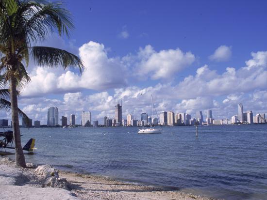 Miami Skyline, FL-Cheyenne Rouse-Photographic Print
