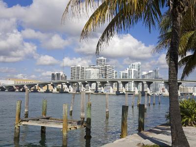 Miami Skyline, Florida, United States of America, North America-Richard Cummins-Photographic Print