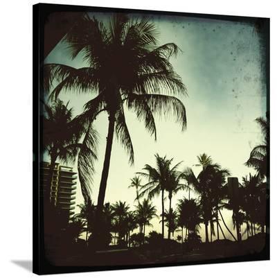 Miami Vintage I-Tony Koukos-Stretched Canvas Print