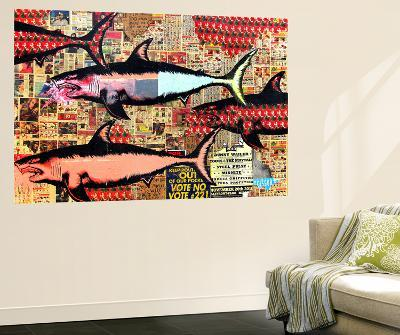 Miami-Shark Toof-Giant Art Print