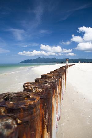 A Beautiful Day at Cenang Beach on Langkawi, Malaysia
