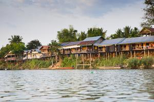 The Island of Don Det Is an Upcoming Backpacker Stop Along the Cambodia and Laos Border by Micah Wright