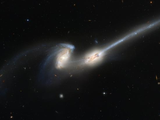 Mice Colliding Galaxies--Photographic Print