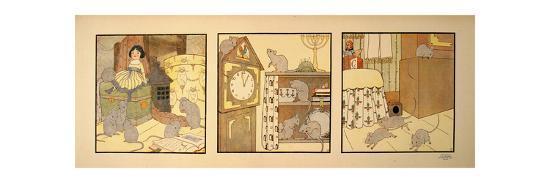 Mice Fun-Marcus Jules-Giclee Print