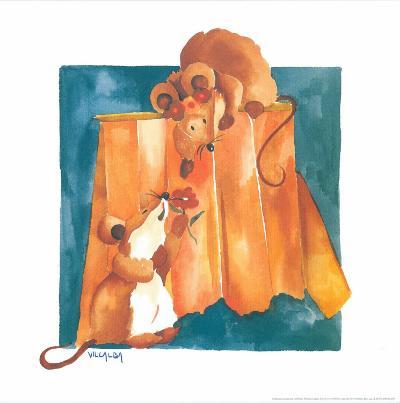 Mice In Love-Urpina-Art Print