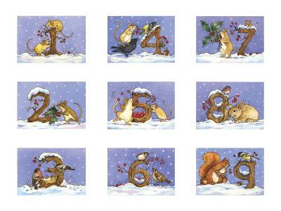 Mice Sleeping-Wendy Edelson-Giclee Print