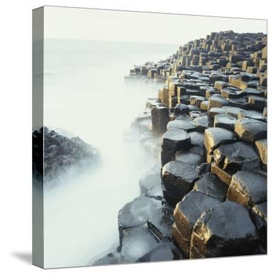 Fog at Basalt Columns of Giants Causeway