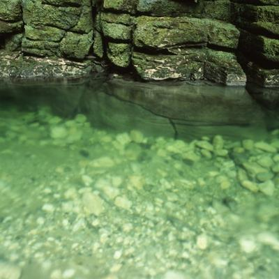 Green Rocks and River