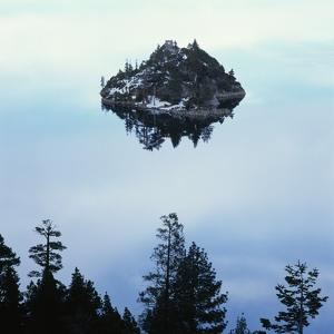 Island in Lake Tahoe by Micha Pawlitzki