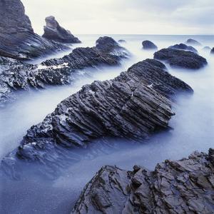 Rock Formation on Coast by Micha Pawlitzki