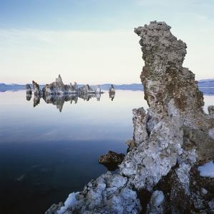 Rock Formations in Mono Lake by Micha Pawlitzki