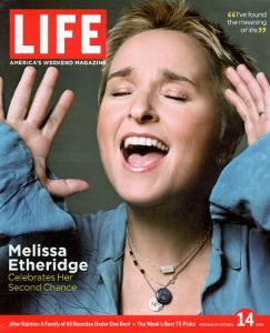 Portrait of Singer Melissa Etheridge, October 14, 2005 by Michael Abrahams