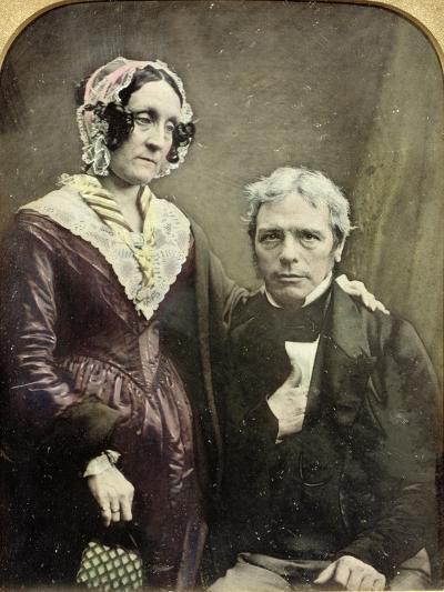 Michael and Sarah Faraday, 1840s-50s--Giclee Print