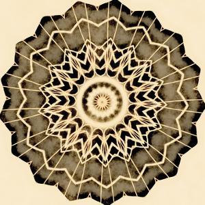 Sand Mandala - Revolve by Michael Banks
