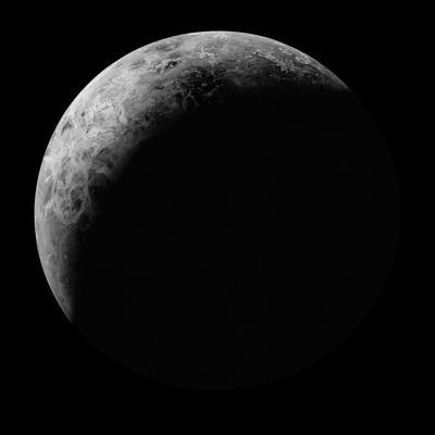 Radar View of the Southern Hemisphere of Venus by Michael Benson