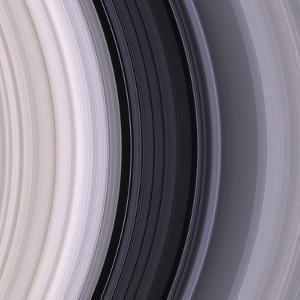 Saturn's Rings by Michael Benson