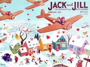 Valentine's  - Jack and Jill, February 1941 by Michael Berry