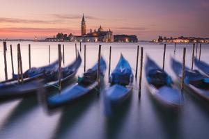 Blue Gondolas by Michael Blanchette