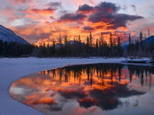 Bow River Bend by Michael Blanchette Photography