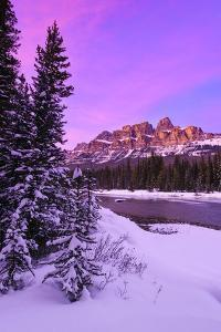 Castle Sunset by Michael Blanchette Photography