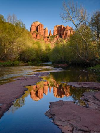 Cathedral Rock Reflection by Michael Blanchette Photography