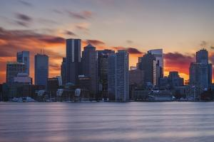 City Sunset by Michael Blanchette Photography