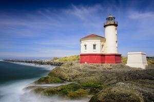 Coquille River Light by Michael Blanchette Photography