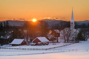 Country Village by Michael Blanchette Photography