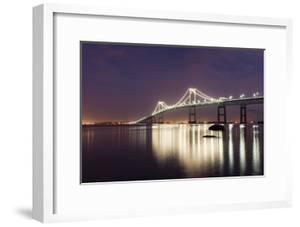 Dusk over Newport Bridge by Michael Blanchette Photography