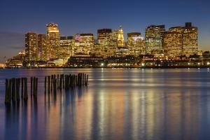 Jetty in the Harbor by Michael Blanchette Photography