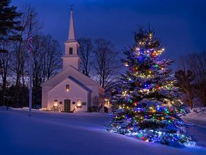 New England Christmas by Michael Blanchette Photography