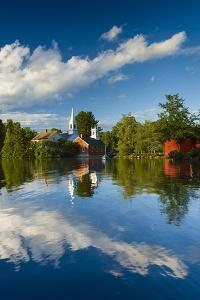 Old Town Reflection - Vertical by Michael Blanchette Photography