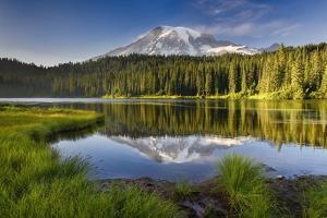 Reflection Lake Vista by Michael Blanchette Photography