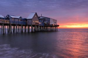 Sunrise At The Pier by Michael Blanchette Photography