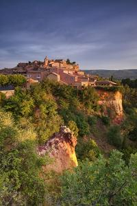 Sunrise Over Roussillon - Vertical by Michael Blanchette Photography