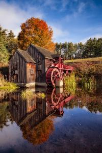 The Old Grist Mill by Michael Blanchette Photography