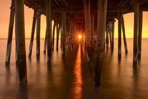 Under the Pier by Michael Blanchette
