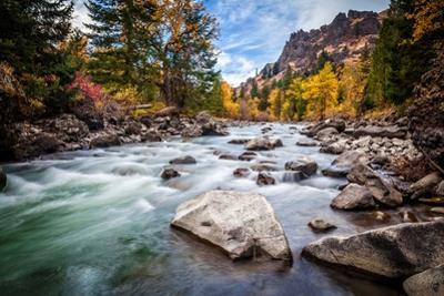 Teton River Rush by Michael Broom