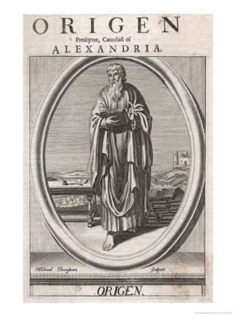 Origen of Alexandria Christian Writer and Teacher One of the Greek Fathers of the Church