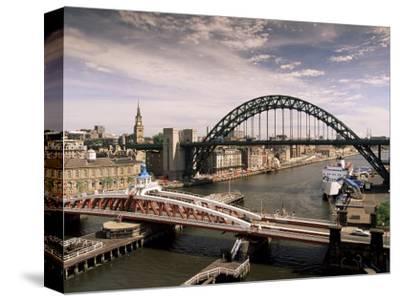 Bridges Across the River Tyne, Newcastle-Upon-Tyne, Tyne and Wear, England, United Kingdom