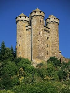 Chateau of Tournemire, Cantal, Auvergne, France by Michael Busselle
