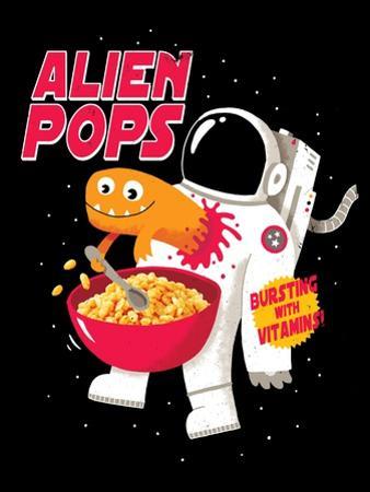 Alien Pops by Michael Buxton