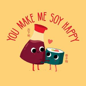 Soy Happy by Michael Buxton
