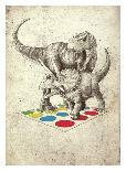 Polite Jaws-Michael Buxton-Art Print