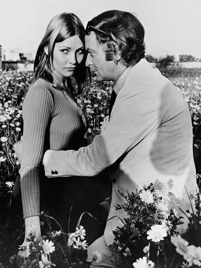 Michael Caine, Janet Agren, Pulp, 1972--Photographic Print