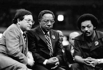 Ernest Morial, Alex Haley, Rev. Jesse Jackson