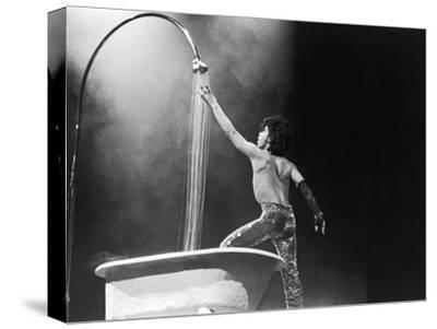 Prince,E Simulates a Shower During Concert Performance, 1984