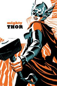 Mighty Thor No. 4 Cover Featuring Thor (Female) by Michael Cho