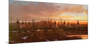 Blackfeet Camp by Michael Coleman