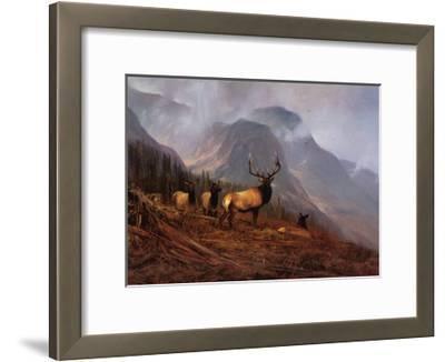 Bookcliffs Elk I